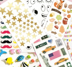 Assortiment mini-stickers