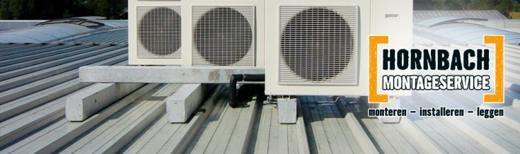 Montageservice - Airco monteren