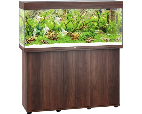 juwel aquarium kast rio 240 led donker hout kopen bij. Black Bedroom Furniture Sets. Home Design Ideas