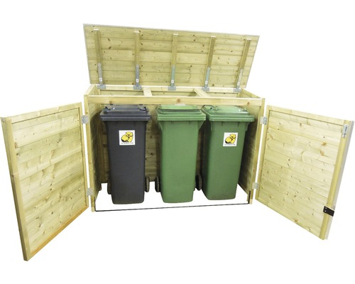 Lutrabox Kast Voor 3 Containers 140l
