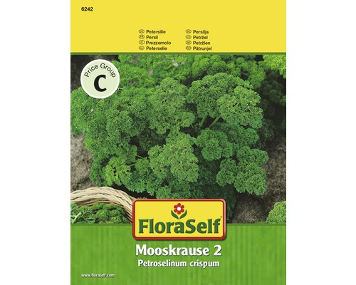FLORASELF® Peterselie Mooskrause 2 kruidenzaden