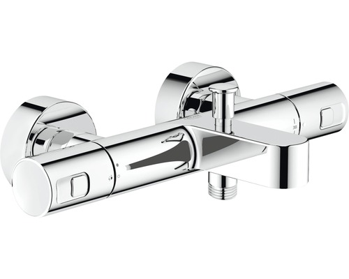 GROHE Bad thermostaatkraan Precision Joy chroom (h.o.h. 15 cm) DN15 ...