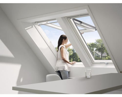 velux dakraam gpu mk08 78 x 140 cm kopen bij hornbach. Black Bedroom Furniture Sets. Home Design Ideas