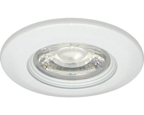 malmbergs led inbouwspot md 99 5w dimbaar met lamp 75 mm wit ip21