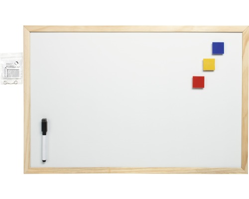 whiteboard magnetisch wit 40x60 cm kopen bij hornbach. Black Bedroom Furniture Sets. Home Design Ideas