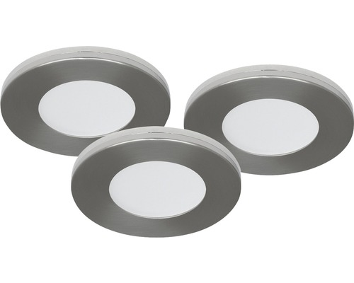 malmbergs led inbouwspot set md 305 9w dimbaar met lamp 75 mm satijn