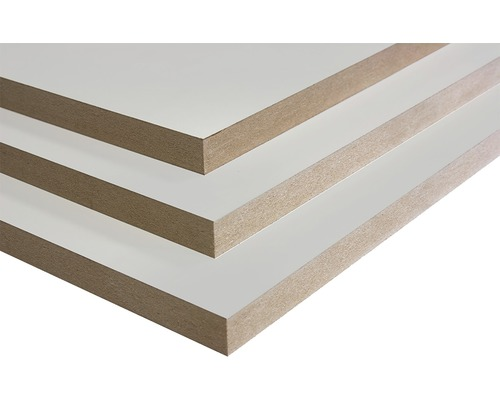 Mdf plaat uv coating wit 2440 x 1220 x 18 mm kopen bij for Karwei mdf